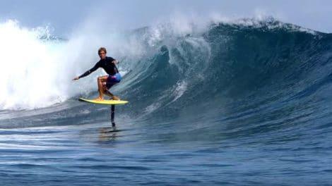 Vidéo Kai Lenny Hydrofoil Surfing pour Naish