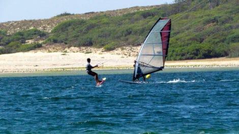 Wind Foil et Kite Foil au Portugal chez Rui Meira
