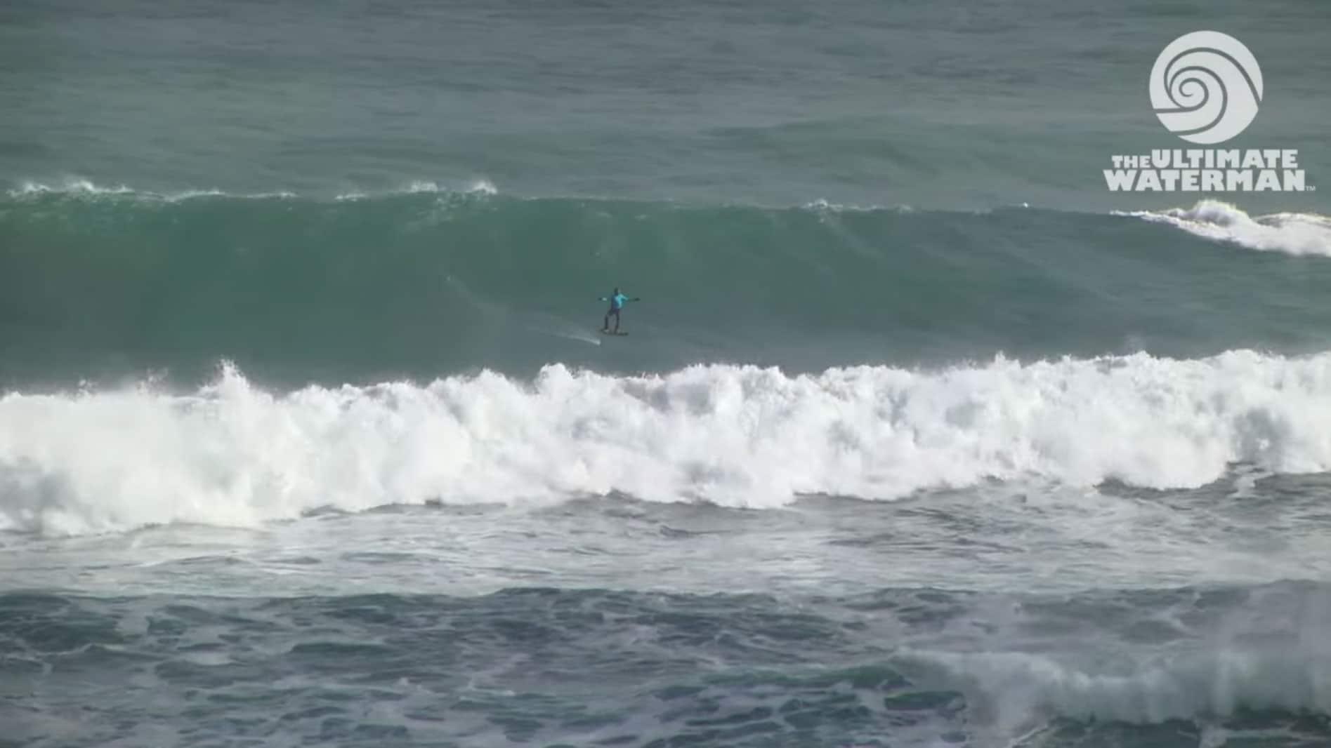 Vidéo Sup Foil avec Laird Hamilton en Nouvelle-Zélande