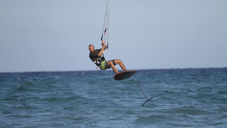 Foil de kite chez Gong Surfboards, le Gong Foil Hellvator