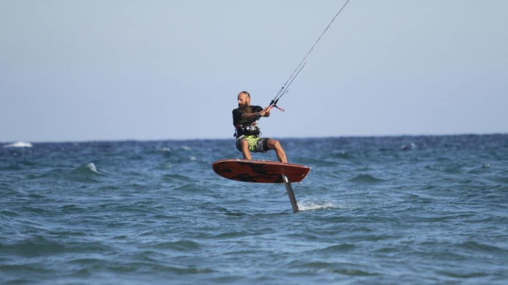 Nouveau Foil de kite chez Gong Surfboards, le Gong Foil Hellvator