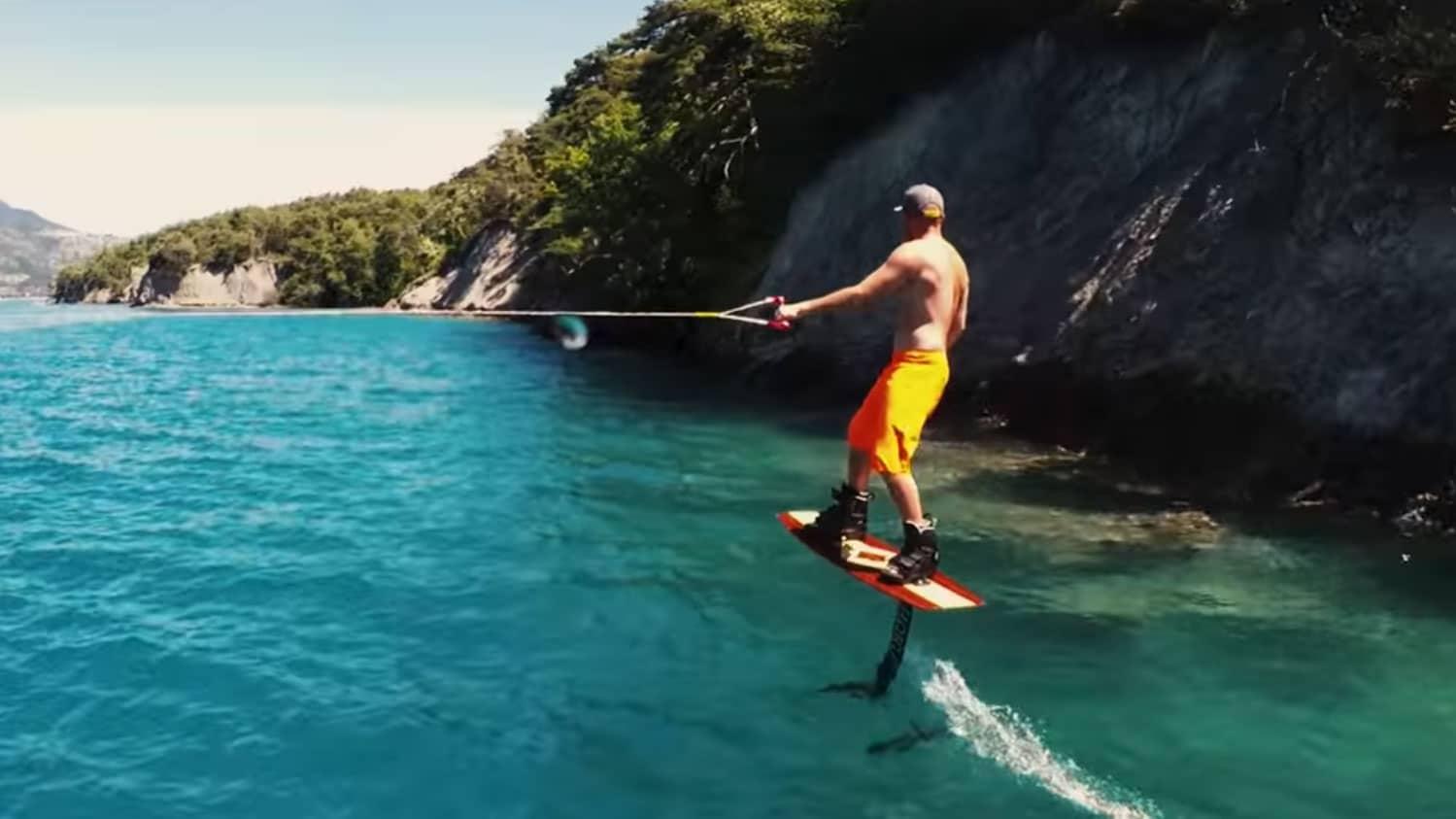 Wakefoil Paradise, la vidéo de Foil Wakeboarding