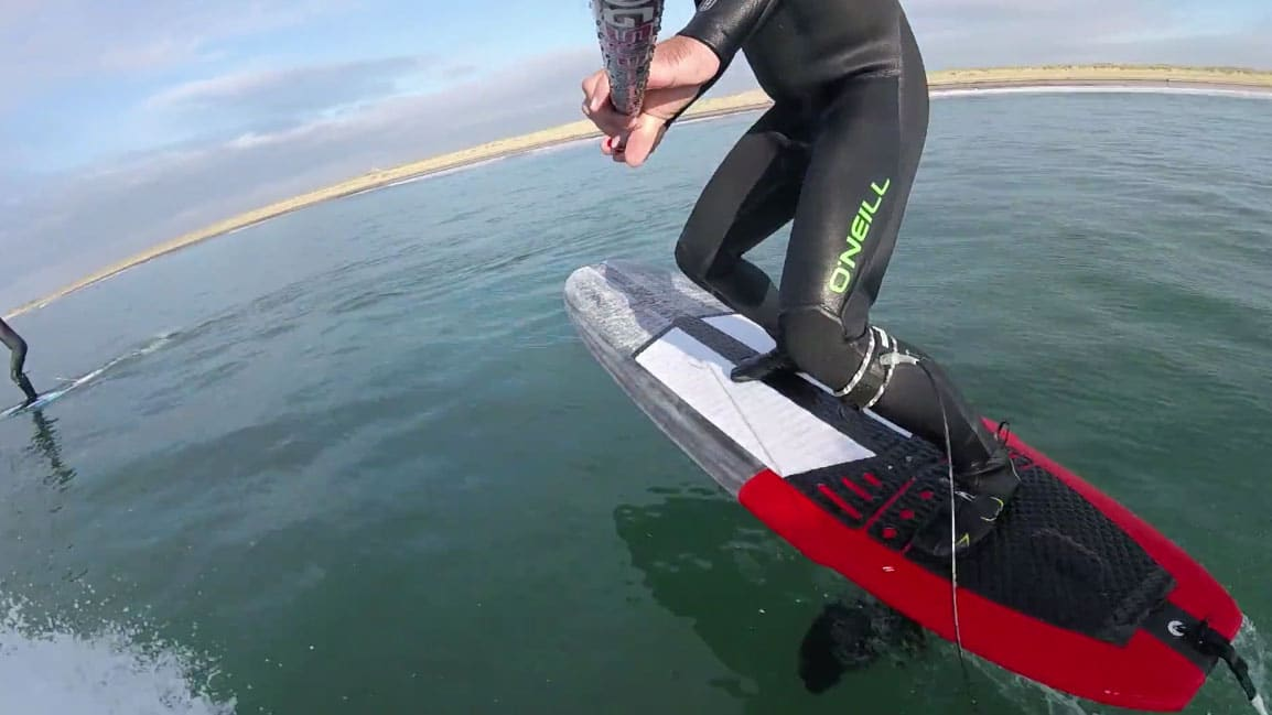 Vidéo stand up paddle foil noserider Gong Surfboard