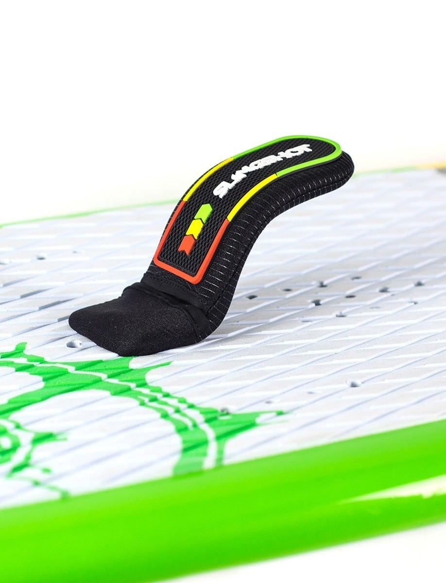Sky Hooks, des straps adaptés aux planches avec foil