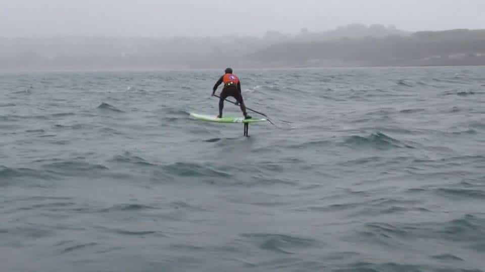 Le Sup Foil vu par le chanpion de stand up paddle Eric Terrien
