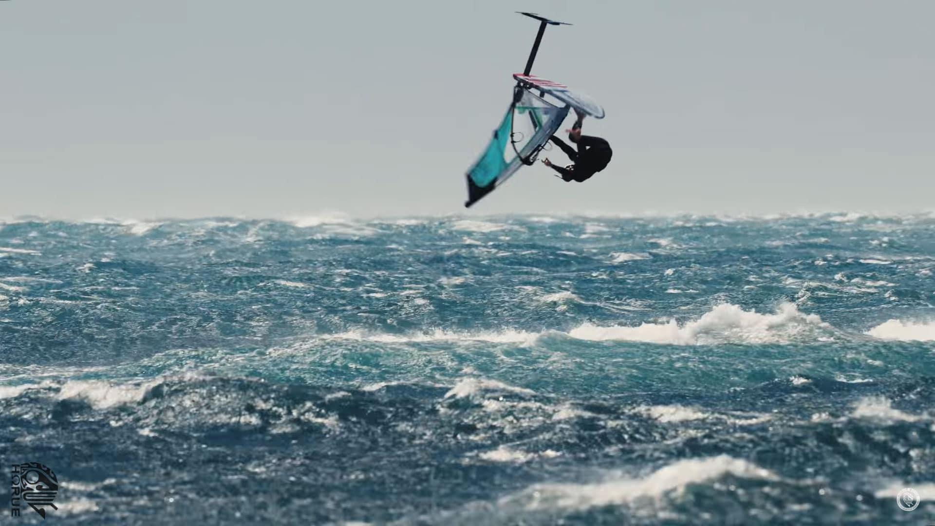 Nouvelle vidéo par Horue Movie, Storm windfoiling