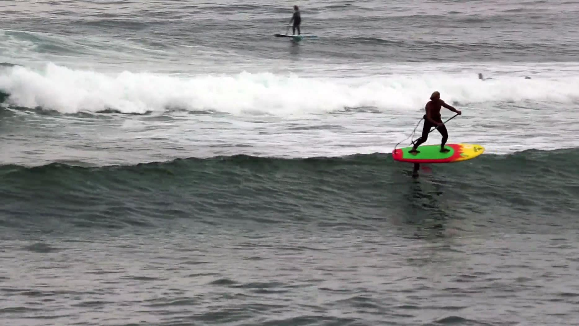 Laird Hamilton parle de la sécurité en foil surfing