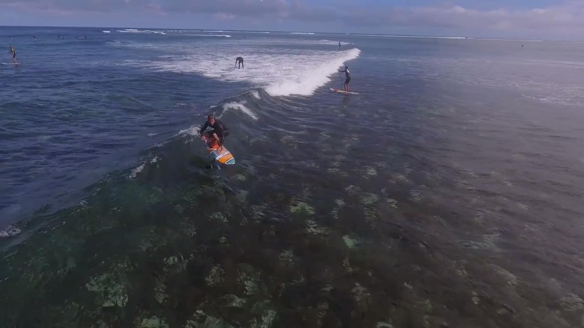 Vidéo Surf Foil F-One avec Grant Twiggy Baker