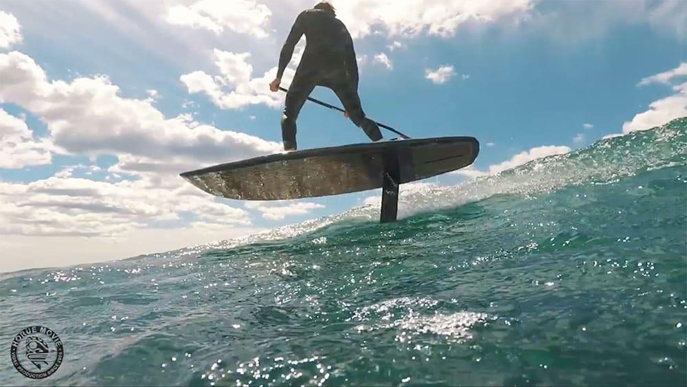 Horue et Redwood Paddle proposent un paddle foil