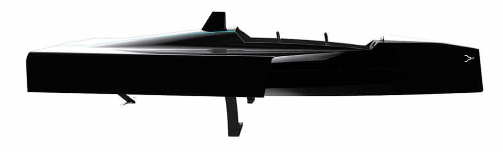 Le projet Hybride Foiling de Foil & Co, un bateau rapide avec des foils