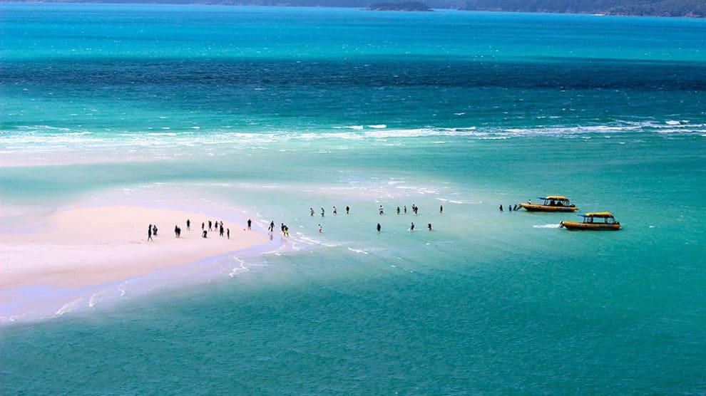 De belles plages en Australie pour pratiquer le foil