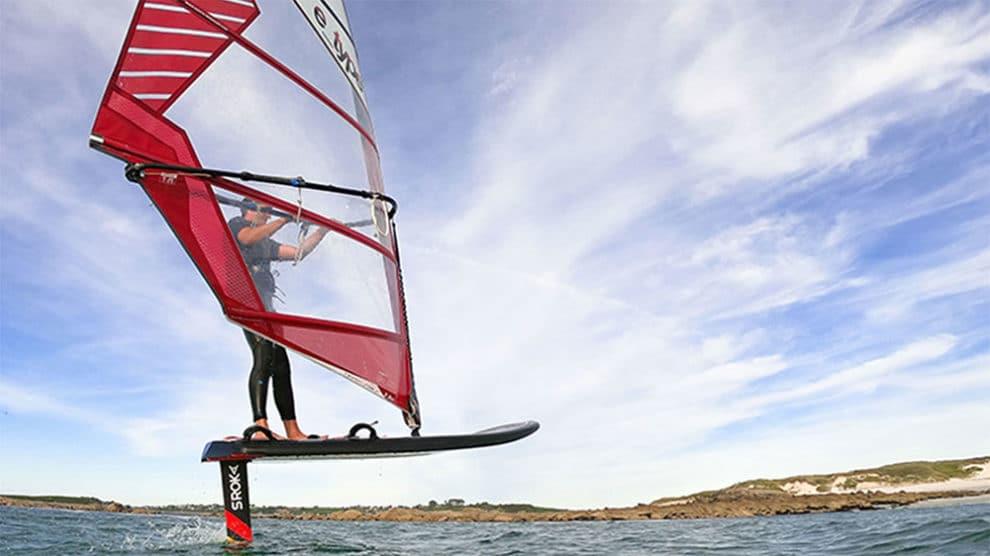 Nouveau Windfoil free ride W-foil Sroka performant, facile et accessible