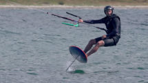 Vidéo pour apprendre le kite foil ou kite foiling