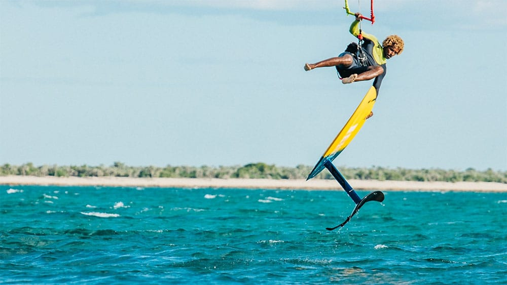 Kite-foil Mitu Pro Flex Convertible de chez F-One