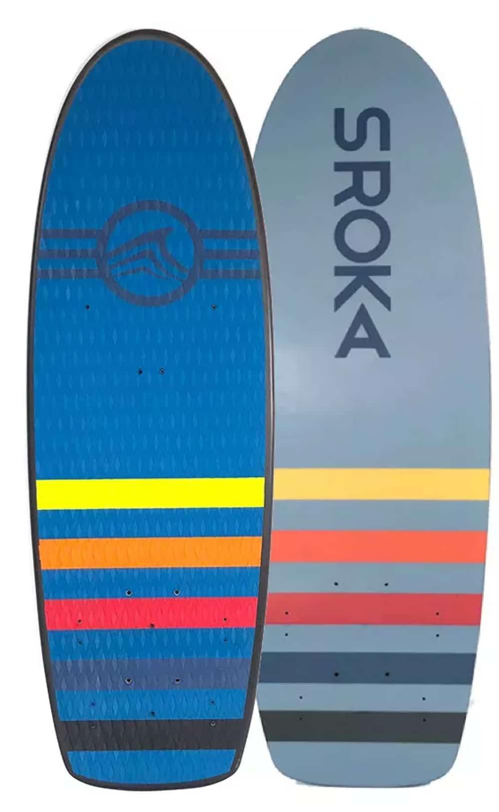 La Pocket Board, un Kitefoil et un Wakefoil de chez Sroka Compagny