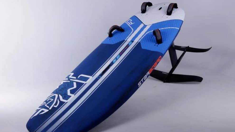Starboard présente sa planche de windsurf Foil Flax Balsa 2018
