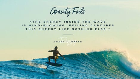 Surf et Sup Foil Gravity de chez F-One World