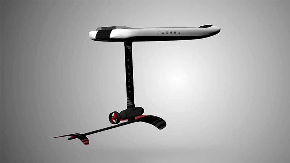 Takuma Concept présente son e-foil électrique le e-Takuma