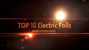 Vidéo du top 10 des hydrofoils électriques pour JetSurfing Nation