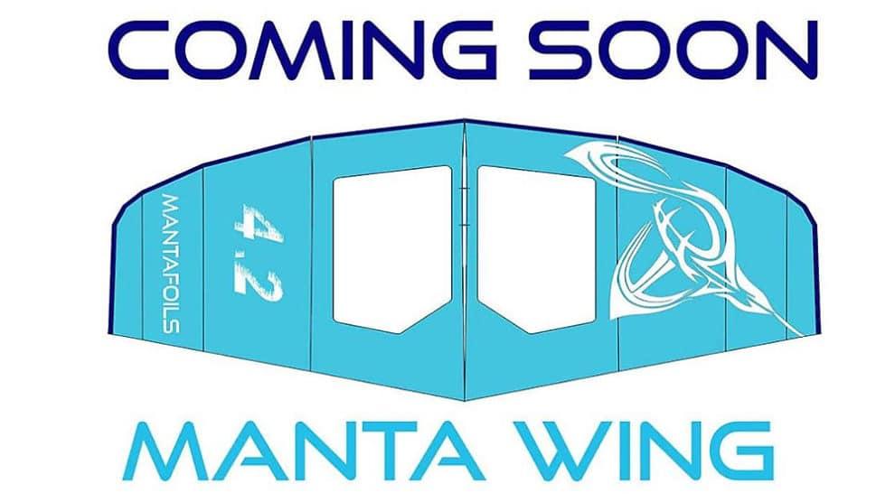 Sup et Surf foil, découvrez la nouvelle aile de Manta Foils