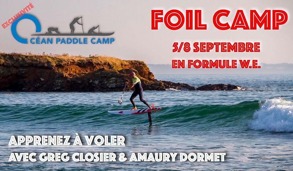 Stage foil Ocean Paddlecamp du 5 au 8 septembre