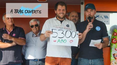 Le Projet Foilidaire a levé 5300€ pour A Bras Ouverts
