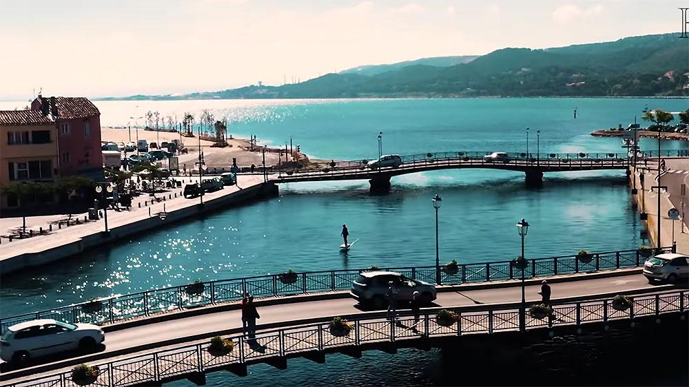 Vidéo efoil électrique Waviator à Martigue