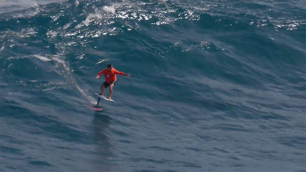 Vidéo Surf Foil avec Dave Kalama à Jaws