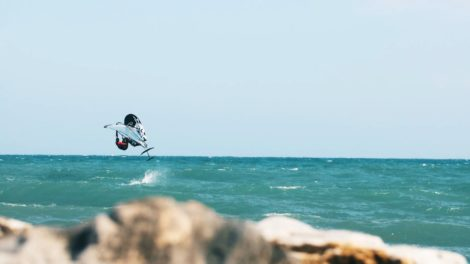 Taaroa Hydrofoil marque de foil française