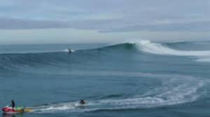 Vidéo de surf foil à Nazaré avec Laird Hamilton
