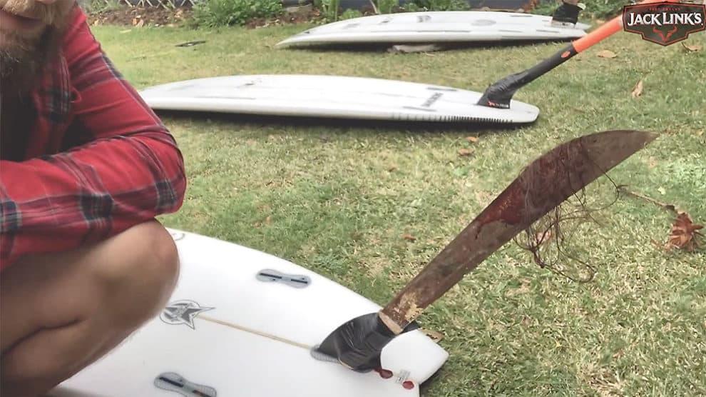 Découper des surfeurs en foil !