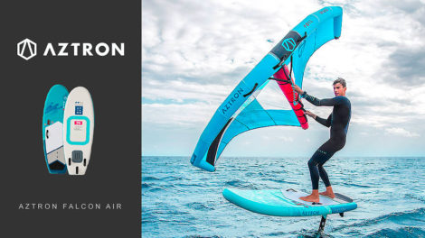 Planche de foil gonflable Aztron Falcon Air