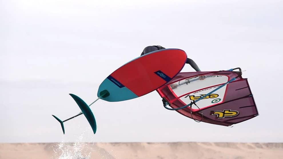 Sam Esteve, WindFoil Freestyle Training