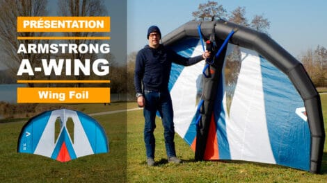Armstrong Foils A-Wing Wingfoil