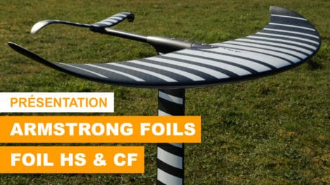 Armstrong Foils Carving Freeride & High Speed foil