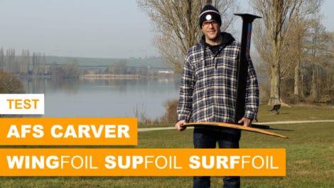 Foil Carver AFS de Wing , Sup ou Surf Foil