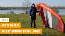 Voile AFS Wilf de wing foil ou wingfoil