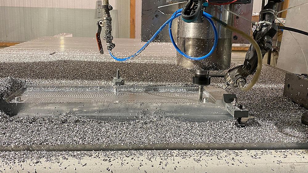 Fabrication du foil AFS