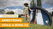 Aile A-Wing V2 Armstrong Foils de wingfoil