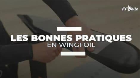 Les bonnes pratiques en wingfoil