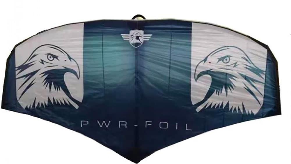 Test voile Wing Foil Eagle de PWR-Foil