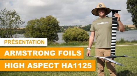 Présentation du foil HA1125 Armstrong Foils