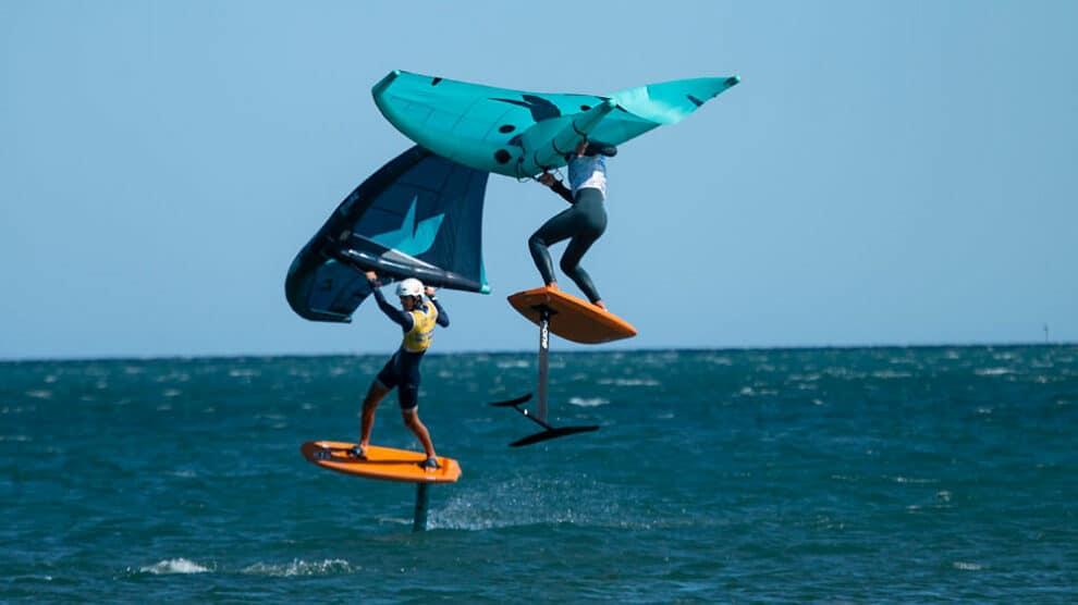 GWA Wing Foil à St Pierre la Mer